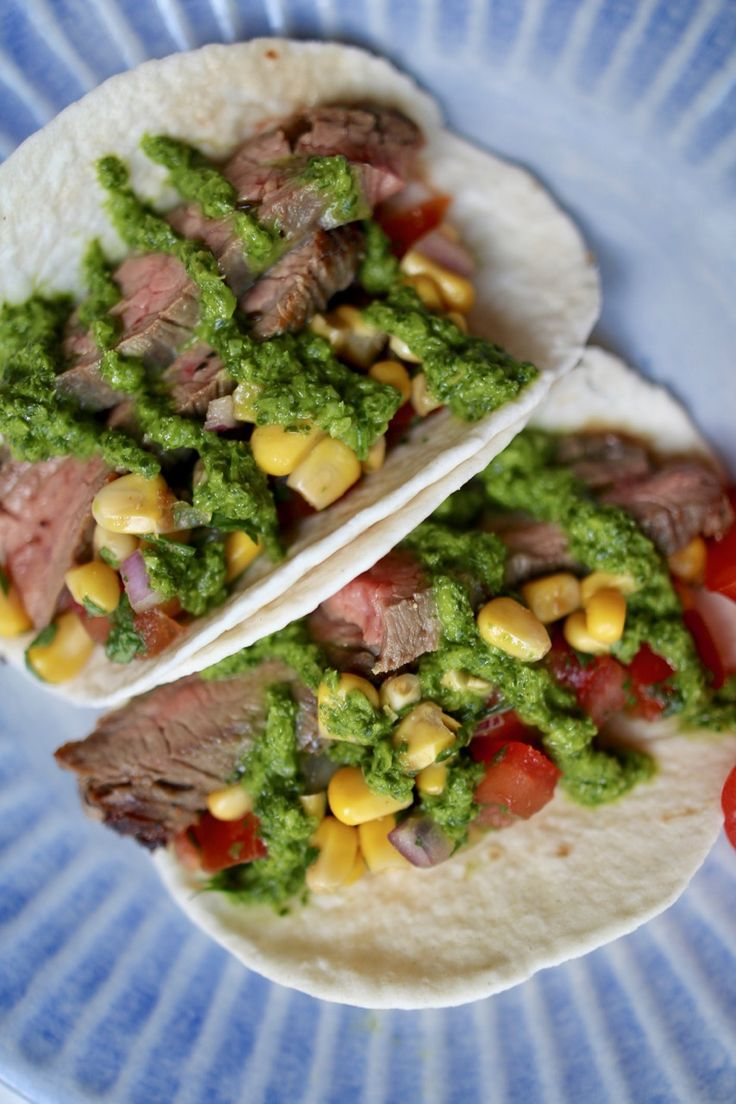 Rounding out the third and final instalment of our Taco Tuesday series are the delicious chimichurri steak tacos that will leave you wanting MORE!