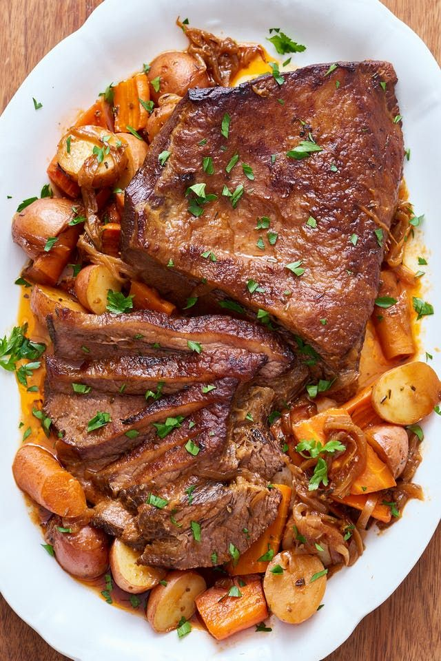 How To Cook Classic Beef Brisket in the Slow Cooker   Kitchn