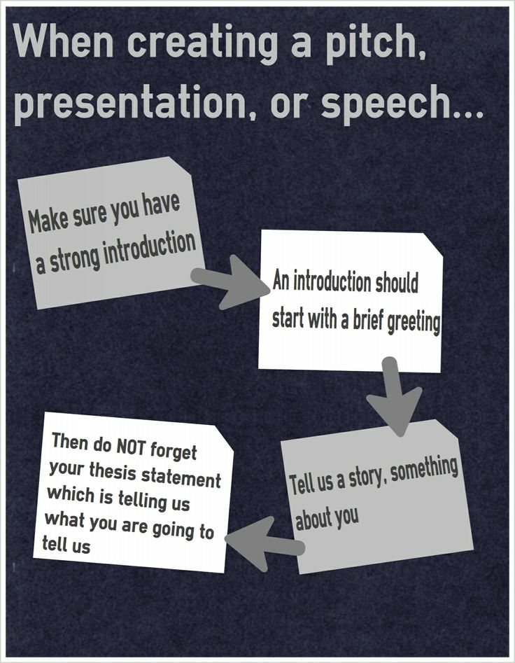 28 best presentation skills and tips images on pinterest career when creating a pitch presentation or speech make sure you do these m4hsunfo