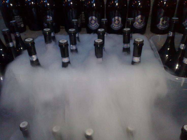 Birra super ghiacciata?