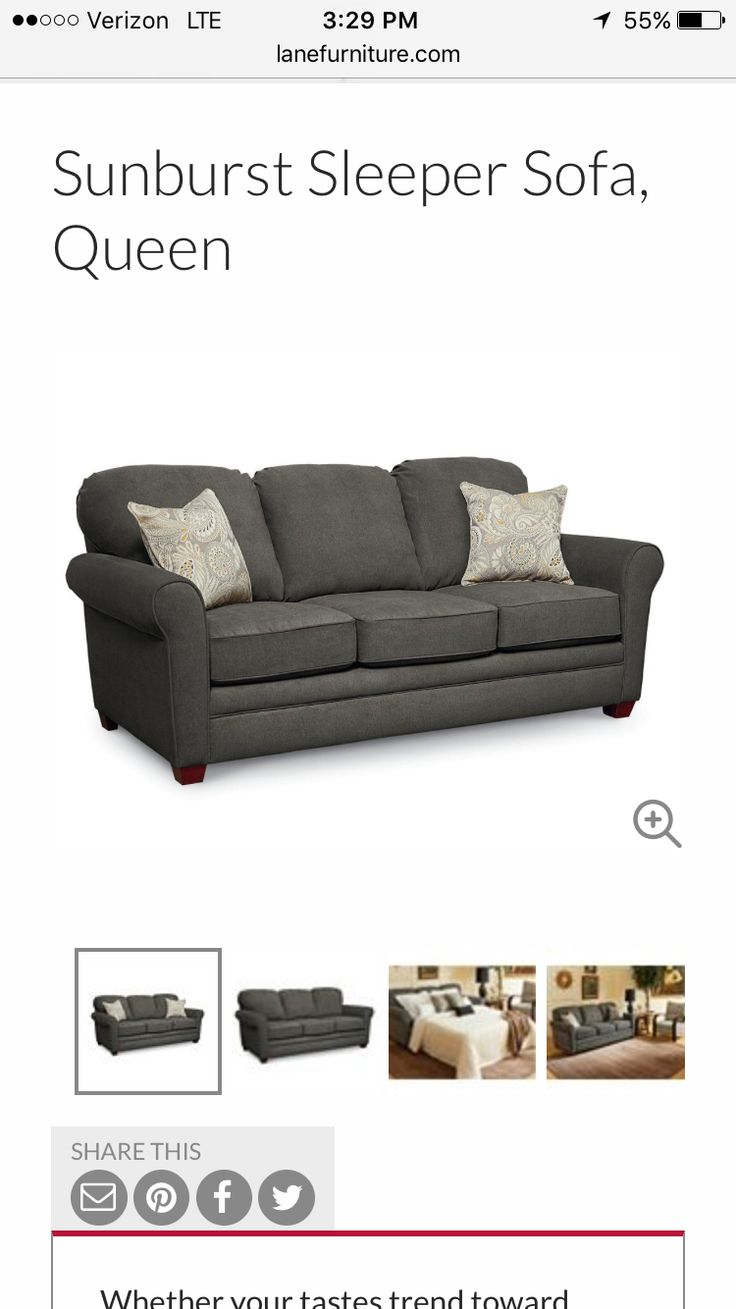 Slept sofa until we get our new light gray sofas