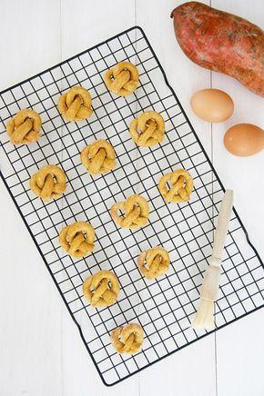 Easy Homemade Sweet Potato Pretzel Dog Treats