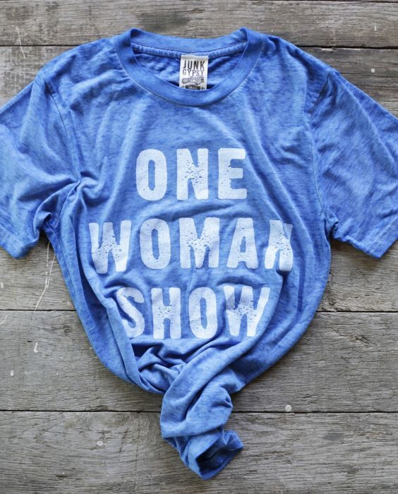 aa64f2117 ONE WOMAN SHOW ROYAL BLUE TEE - Junk GYpSy co. | JuNk GYPsy BaBY in ...