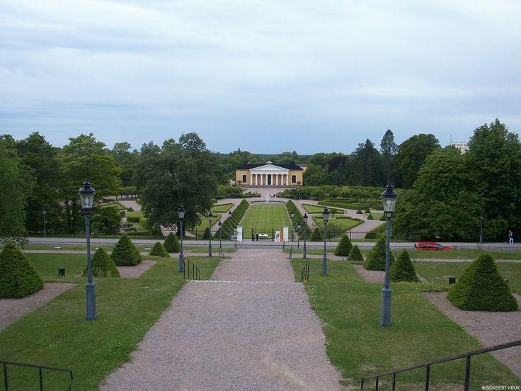 Uppsala - Botaniska Trädgården