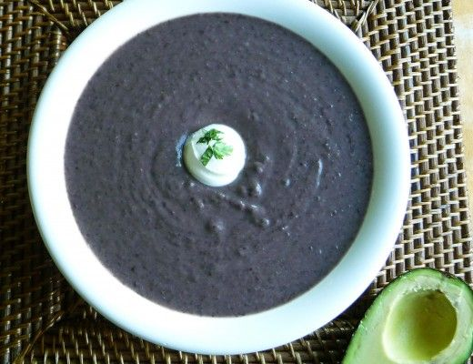 Camellia Beans: Richard's Radical Black Bean Soup