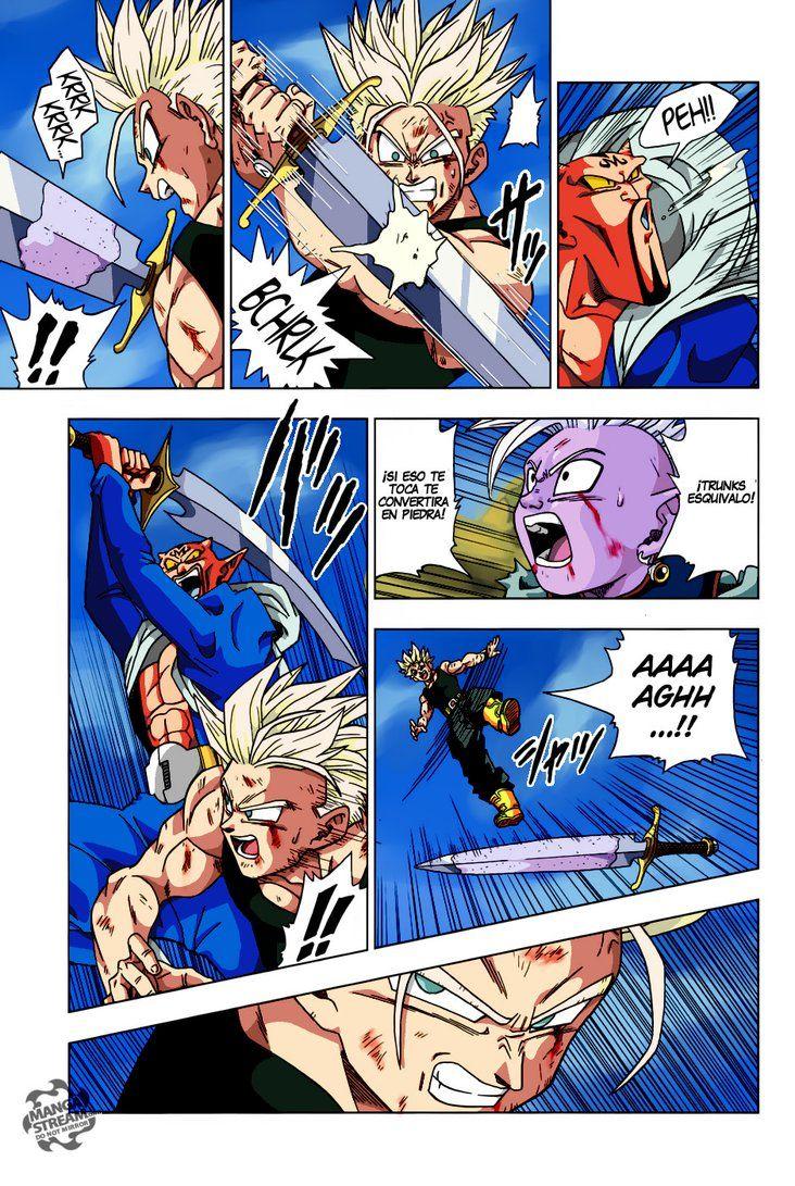 Dragon Ball Super Manga 16 Color By Bolman2003jump Dragon Ball Super Manga Anime Dragon Ball Super Dragon Ball Artwork