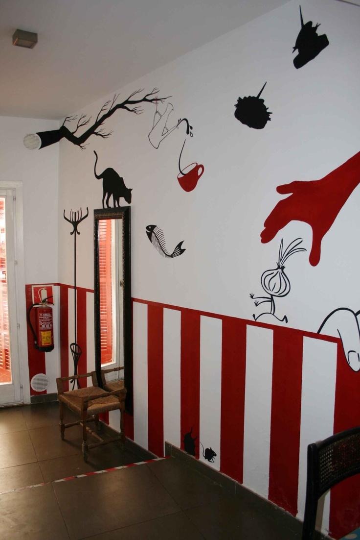 18 best images about murales para tu negocio on pinterest - Decoracion bares de tapas ...