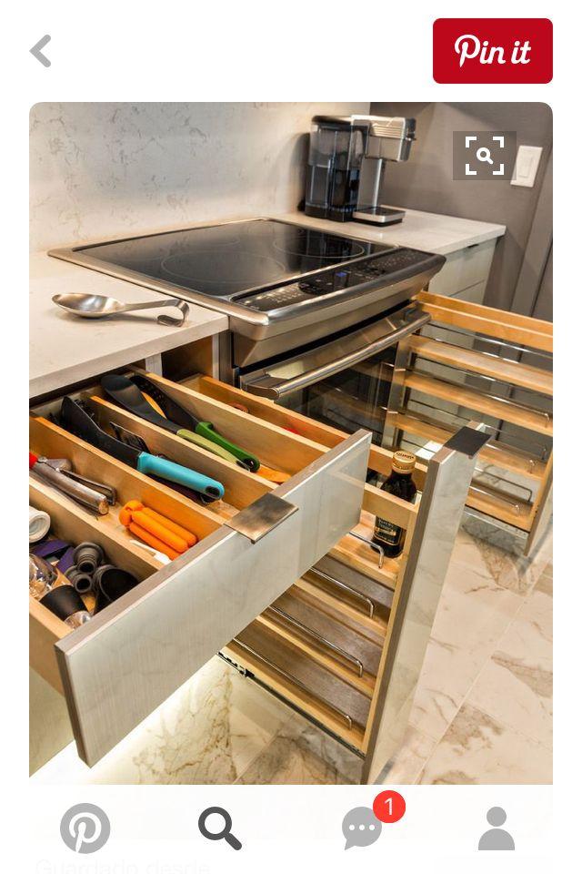 12 best Cocina images on Pinterest   Almacenaje de cocina, Ideas de ...