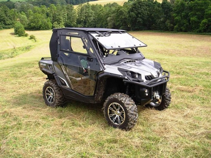 can am commander | DFK Announces Cabs for Can-Am Commander and Honda Big Red