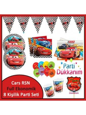 Cars RSN Ekonomik Süper Set (8 Kişilik)