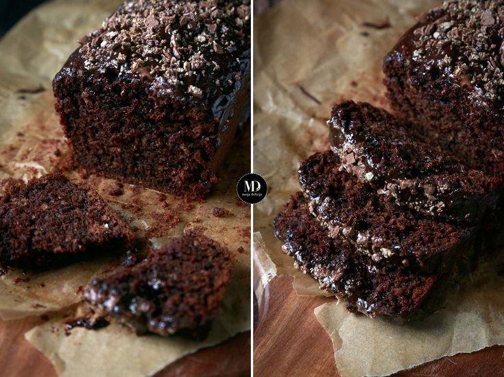Wilgotne ciasto czekoladowe na czekoladzie bez miksera