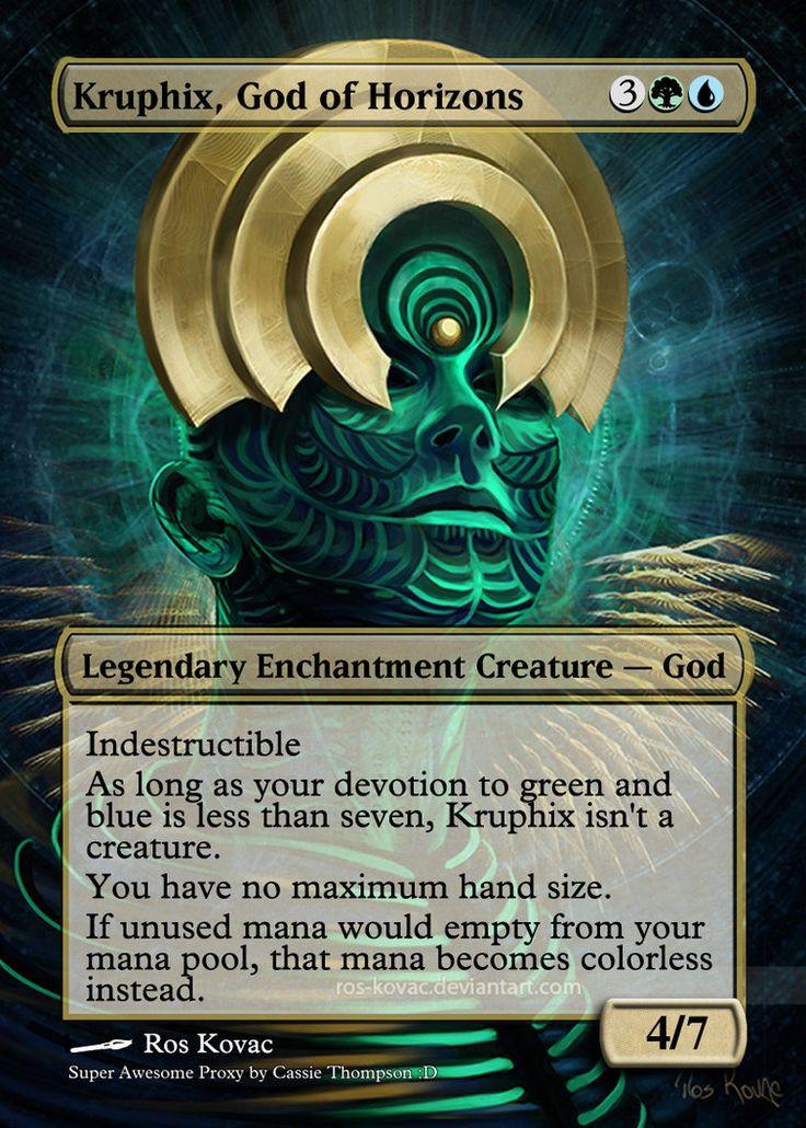Kruphix, God of Horizons by Itsfish3 on DeviantArt | MTG ...