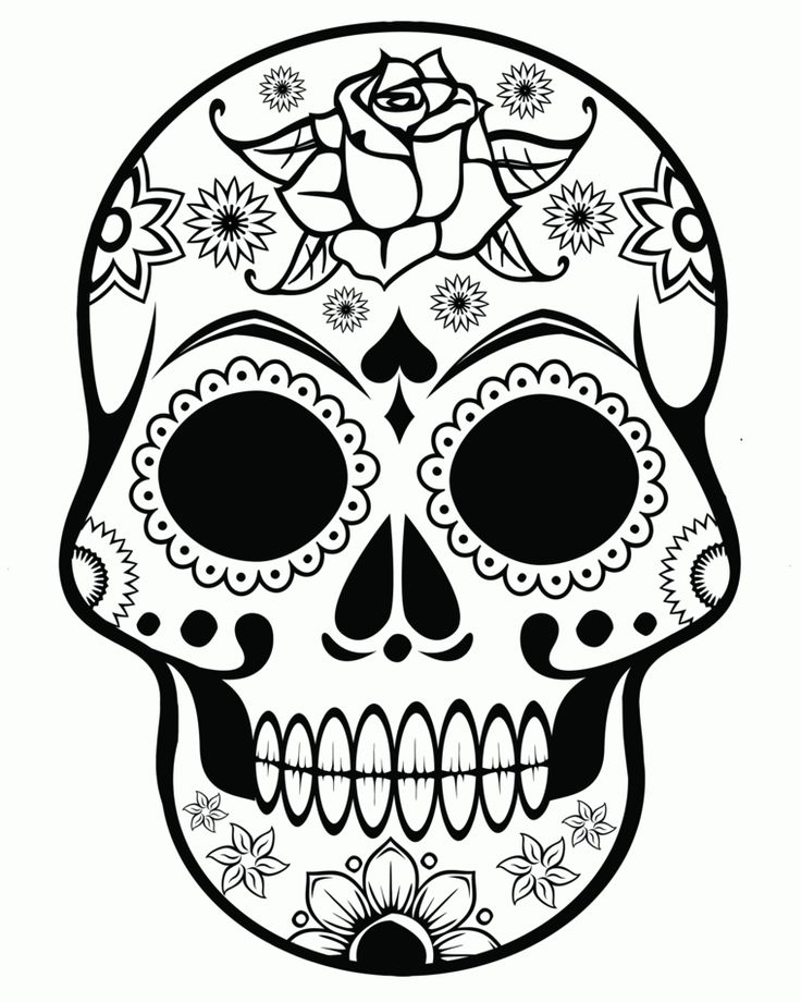 Oltre 25 fantastiche idee su disegni teschio su pinterest for Teschi da disegnare