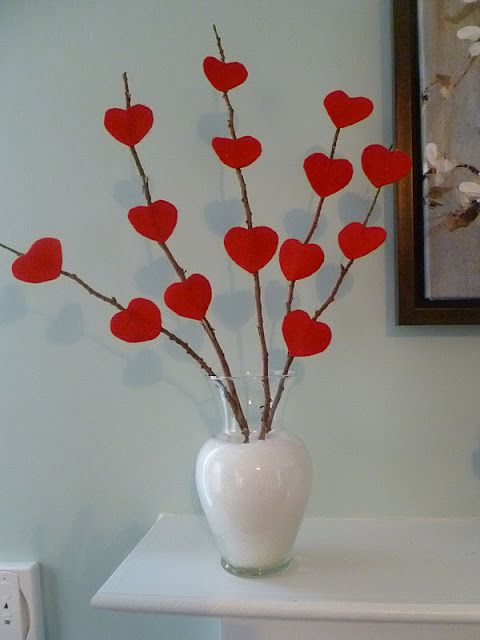 Best 25 diy valentine decorations ideas on pinterest for Heart decoration ideas