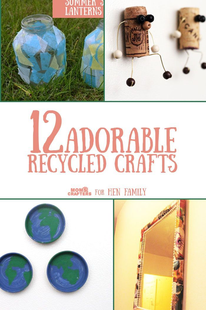 238722 best images about kid blogger network activities for Cool recycling projects