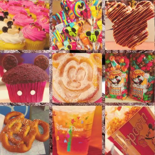 Disney food!! I can not freaking wait. 16 days! Me and Ethan are gonna pig out!