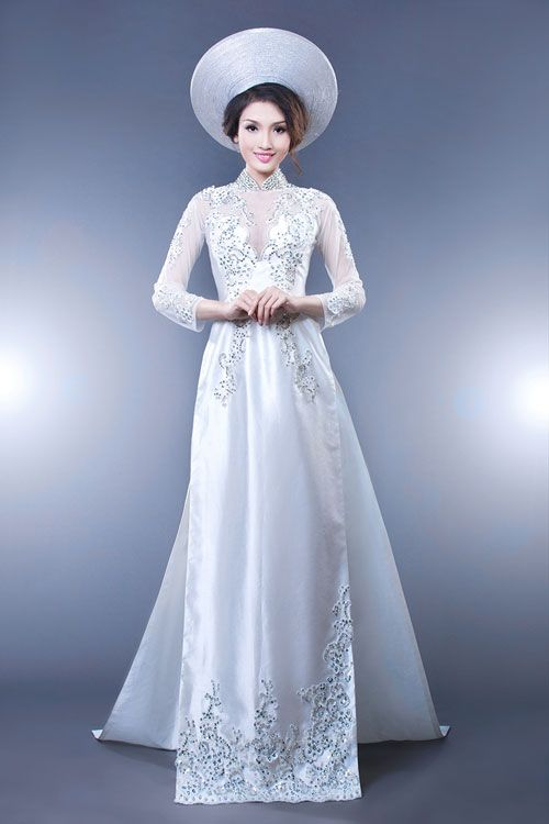 84 best Ao dai for mom images on Pinterest | Vietnamese dress ...