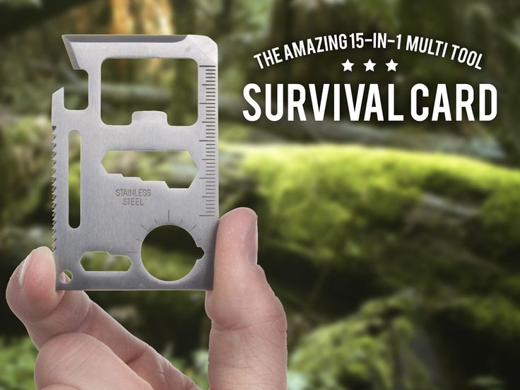 Survival Card – Universalverktøy