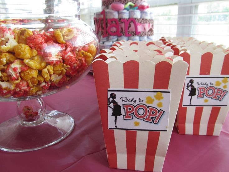 Baking For The Boys: Ready To Pop Baby Shower   Love This Idea!