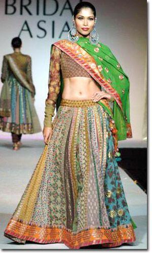 Designer Latest Sabyasachi Lehenga Collection - Bridal Lehenga Saree