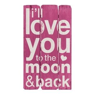 Moon and Back (Pink) LAST STOCK