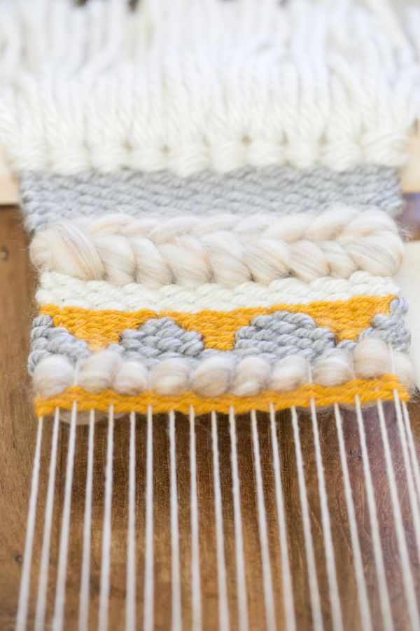 DIY Weaving Project nice tutorial