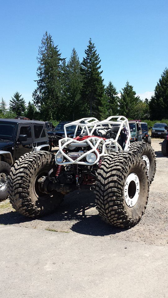 Bug Rock Crawler : Rock crawler on rockwells and quot baja claws wheels