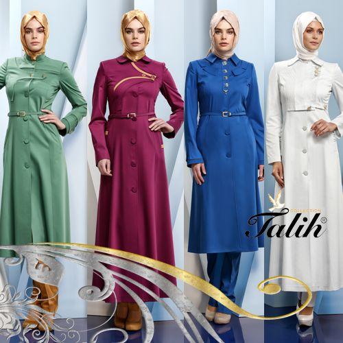 Beyazı, yeşili, mavisi ve moru ile aklınıza gelebilecek tüm ana renkler ve tonları Talih Pardesü koleksiyonlarında mevcut!