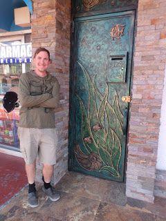 The coolest door in Mexico