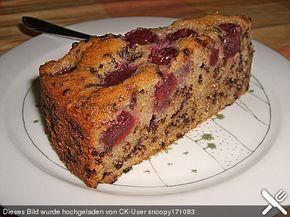 Nusskuchen mit Sauerkirschen, ein tolles Rezept aus der Kategorie Kuchen. Bewertungen: 100. Durchschnitt: Ø 4,6.