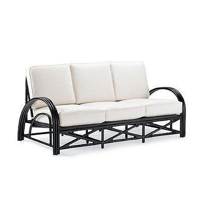 Lola Rattan Sofa With Cushion -