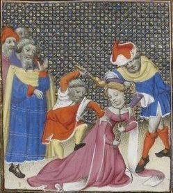 Giovanni Boccaccio, De Claris mulieribus; Paris Bibliothèque nationale de France MSS Français 598; French; 1403, 138v. http://www.europeanaregia.eu/en/manuscripts/paris-bibliotheque-nationale-france-mss-francais-598/en