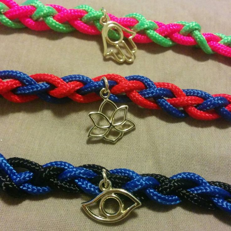 Just posted some listings for these cute knot rope yoga bracelets! Choose your colors and either a lotus, healing hand, or third eye charm. :) Only three of each are available so get your soon!  Love, Krys