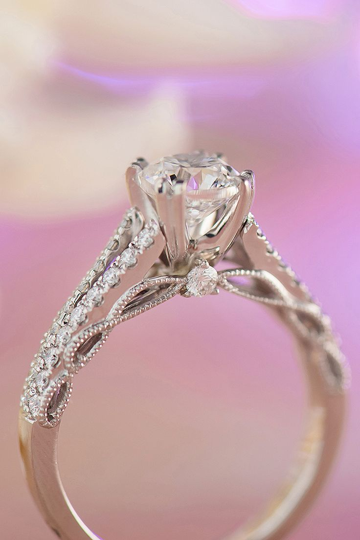 438 best Infinity Engagement Rings images on Pinterest | Engagements ...