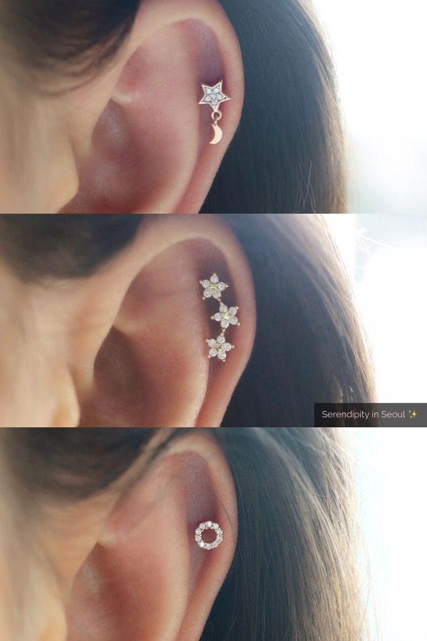 Best Cartilage Piercings Crafted From Sterling Silver