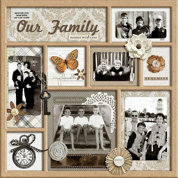 52 best Scrap booking - Military Layouts images on ...