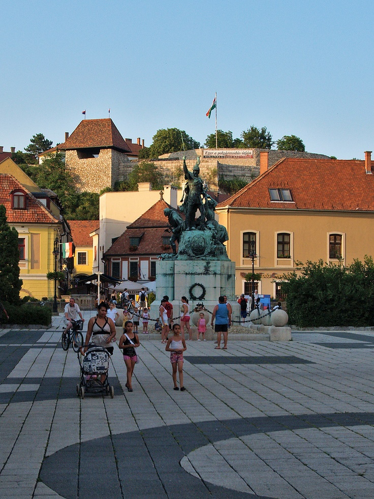 Eger, Hungary (photo by Tamás Dibusz via Flickr)