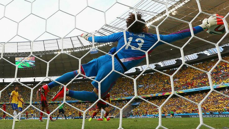Guillermo Ochoa World Cup Brasil 2014