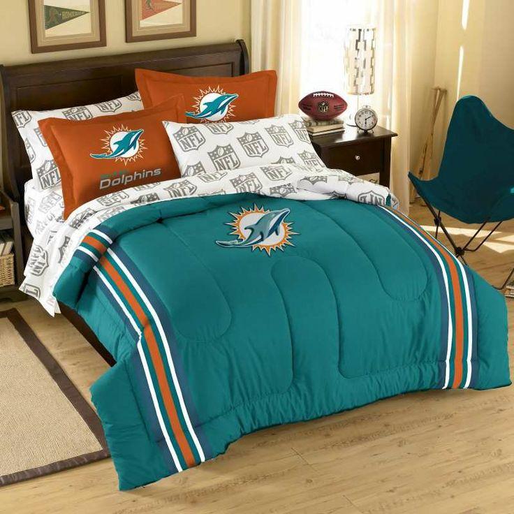 Miami Dolphins Nfl Comforter Set