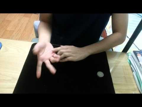 1강) 동전마술해법 -사라지는 동전 마술 배우기