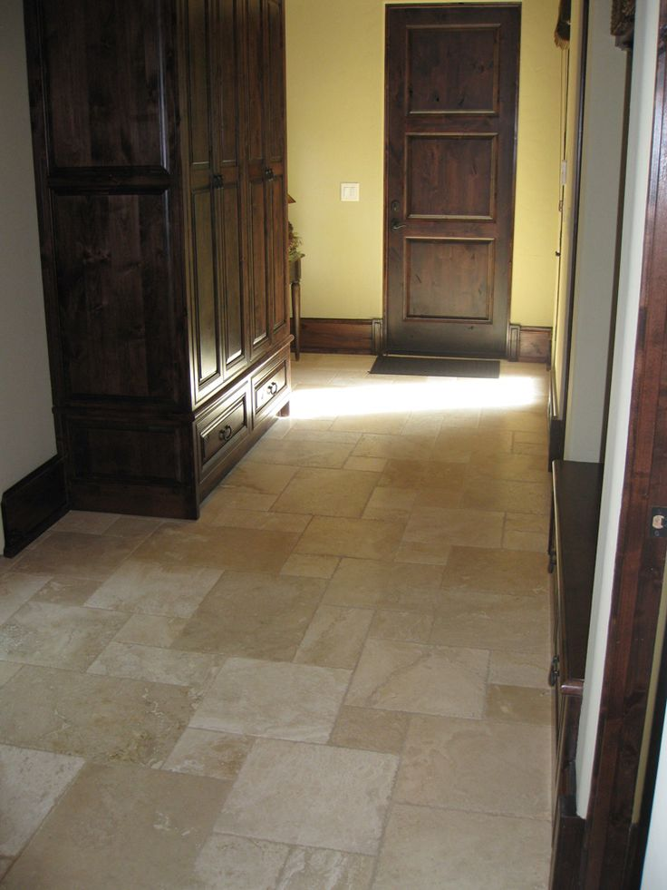 French Pattern Travertine Floor Tile $2.79/sq Ft