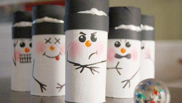 snowmen bowling