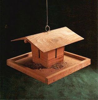 34 Best Images About Homemade Wood Bird Feeder On
