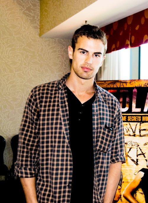 Theo James is all sorts of attractiveness.