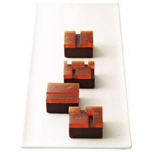 Japanese Sweets, 銘菓「乃し梅」と白餡、チョコレートを組み合わせた新味。【たまゆら】