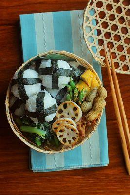 天むす弁当 | 日本の片隅で作る、とある日のお弁当