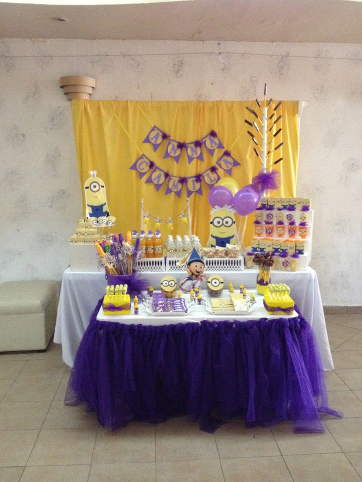 Pinterest Discover And Save Creative Ideas: Mesa De Postres Minions Www.facebook.com/ivetteandpaola