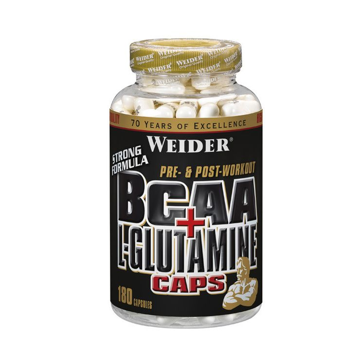 Weider Global Nutrition Global Line BCAA + L-Glutamine kapsule | Ljekarnik.hr