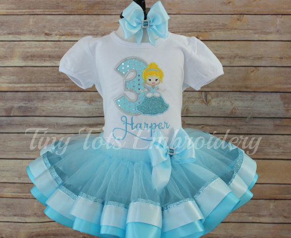 Check out this item in my Etsy shop https://www.etsy.com/listing/472739657/cinderella-tutu-outfit-cinderella