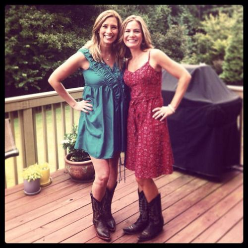 Hot Weather Girls • Jen Carfagno and Stephanie Abrams of The Weather...